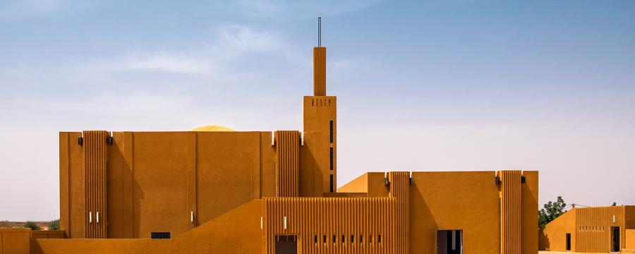 Atelier Masomi, Studio Chahar, Hikma Religious and Secular Complex, Niger, 2018 © James Wang