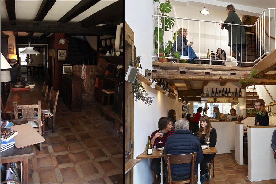 Collectif encore, Restaurant La Légende (avant-arpès), Sauveterre-de-Béarn, Pyrénées-Atlantiques, 2018