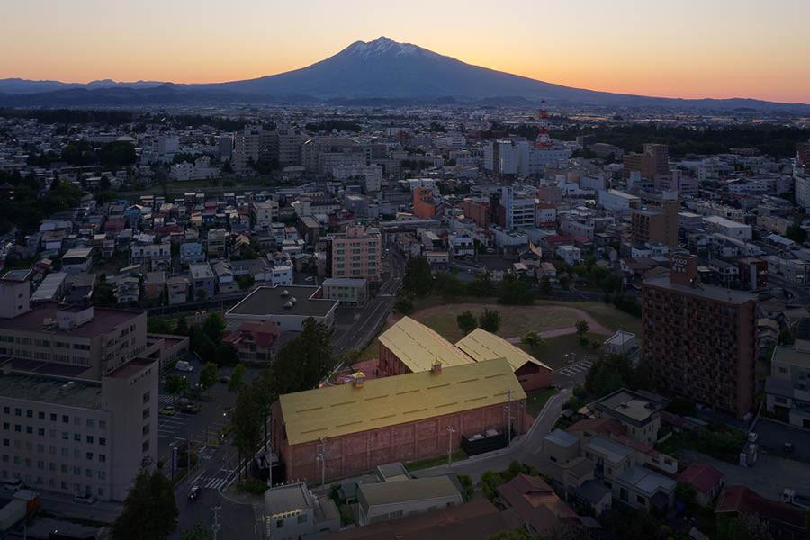 Atelier Tsuyoshi Tane Architects - ATTA - Musée d'art contemporain, 2020, Hirosaki, Japon ©Daici Ano