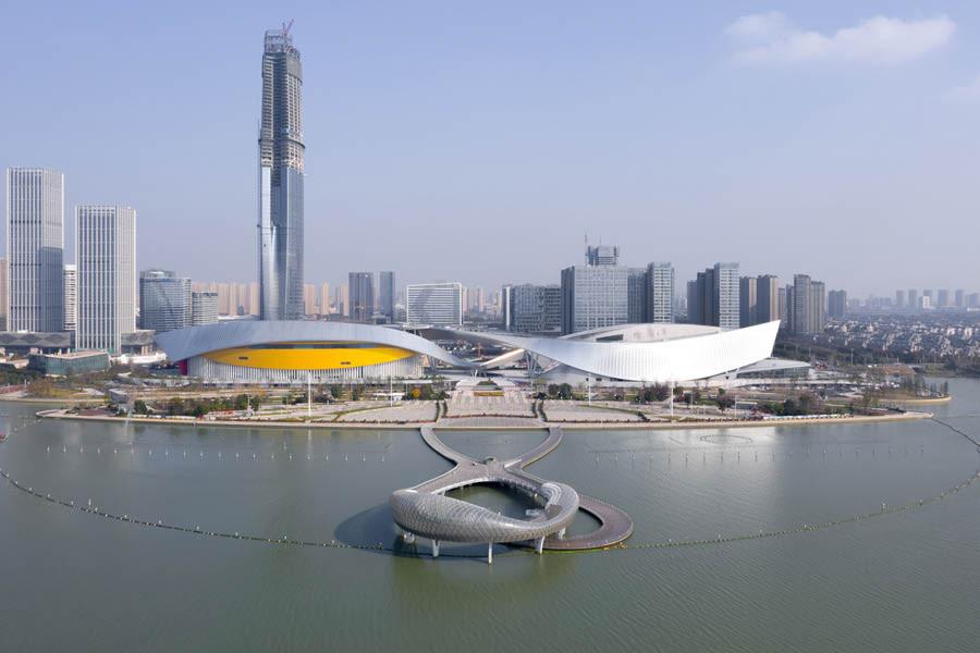 2Portzamparc, Centre culturel de Suzhou, 2020, Chine ©2Portzamparc