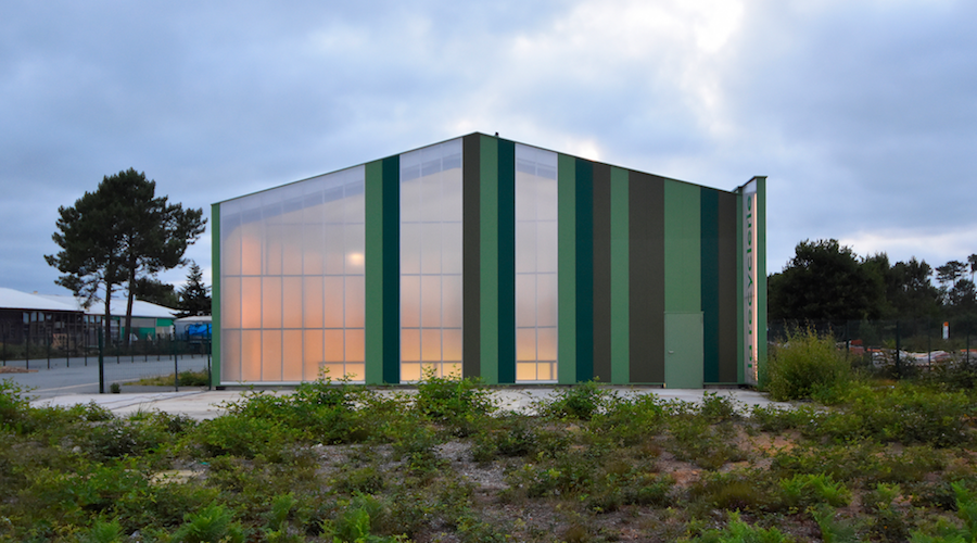 Centre associatif de recyclage de Belin-Béliet (33) ©Atelier Renard