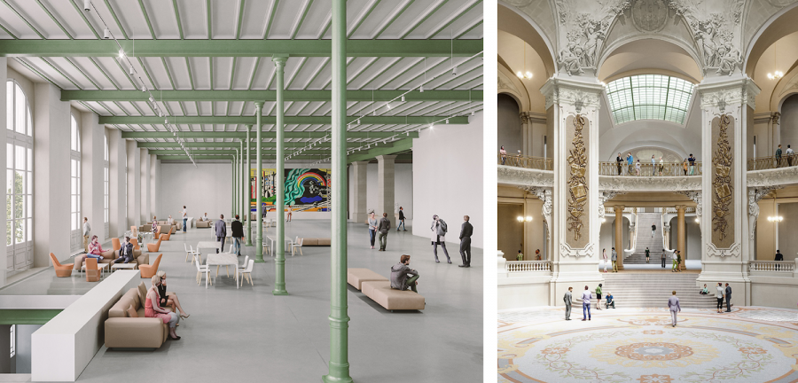 Grand Palais, Paris, 2020-2025| ©Chatillon Architectes